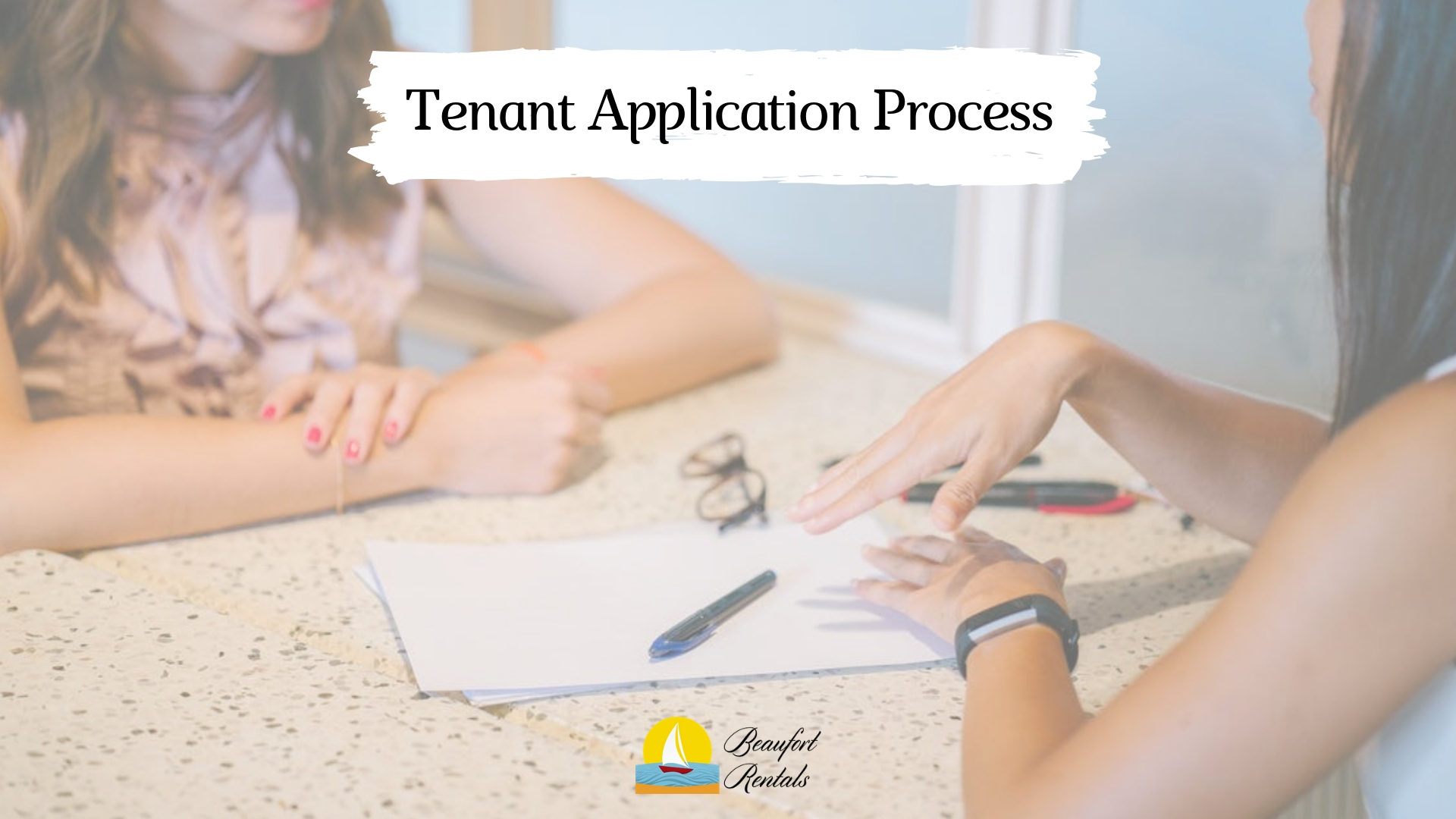What is Included in the Tenant Application Process in Beaufort, SC?