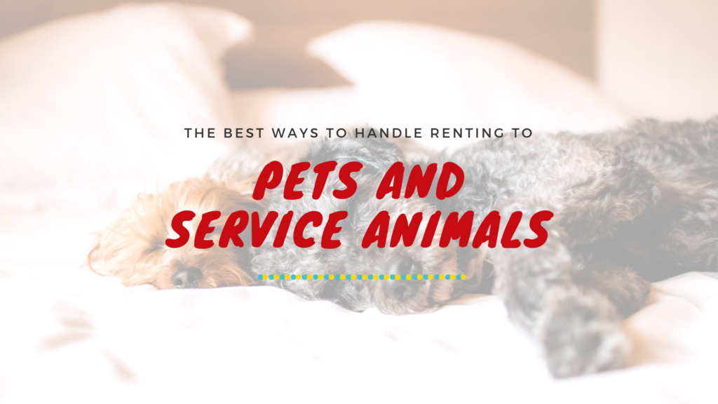 Pets and Service Animals