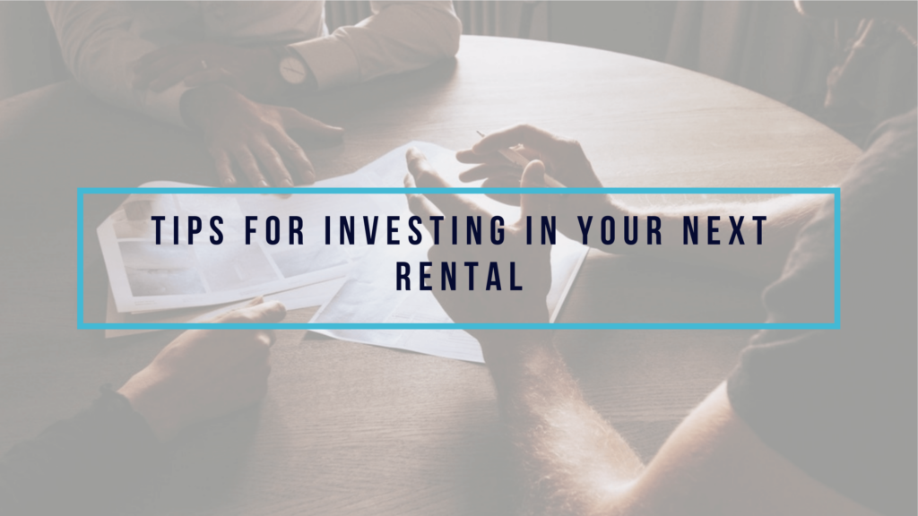 Investing in Your Next Beaufort Rental - article banner
